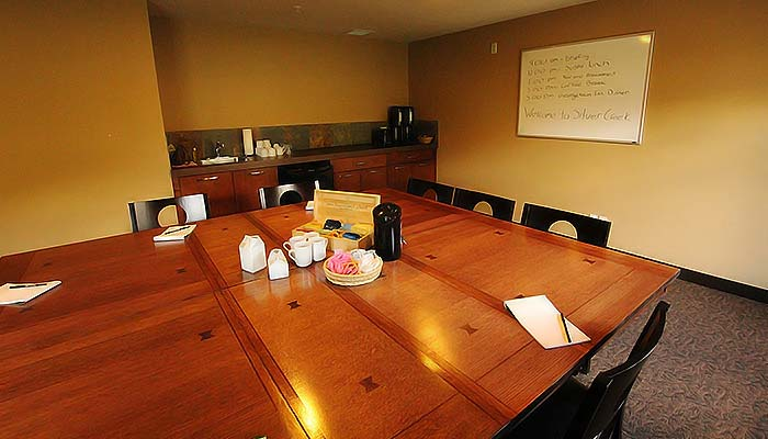 A image of the Silver Creek boardroom
