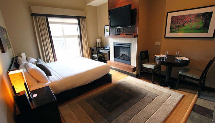 A photo of one of our Two Bedroom Suites